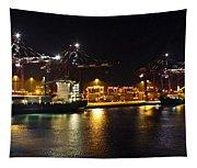 Shipyards 2 Callao Port Lima Peru Tapestry