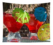 Shirley Temple Cocktail Tapestry