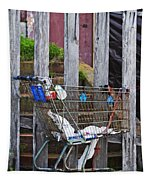 Shopping Cart Tapestry