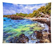 Shoreline At Puako Tapestry