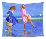 Shoreline Skippers Tapestry
