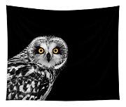 Short-eared Owl Tapestry