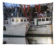 Shrimp Boats Reflecting Tapestry