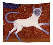 Siamese Cat Runner Tapestry