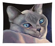 Siamese In Blue Tapestry