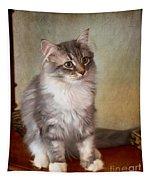 Siberian Forest Kitten II Tapestry