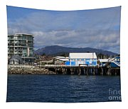 Sidney Harbour On Vancouver Island Tapestry