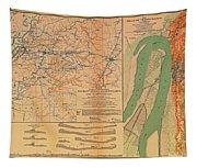 Siege Of Vicksburg 1863 Tapestry