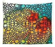 Siesta Sunrise - Stone Rock'd Art Painting Tapestry