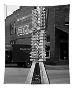 Sign Post In Crossville Tennessee 1939 Tapestry