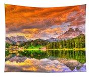 Silence Of Dusk Tapestry