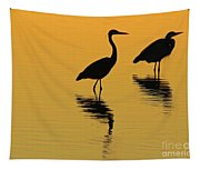 Silent Sunset Tapestry