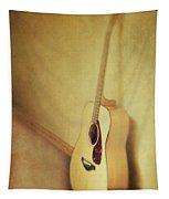Silent Guitar Tapestry