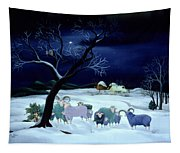 Silent Night Holy Night Tapestry