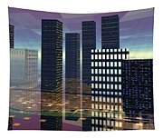 Silicon City Tapestry