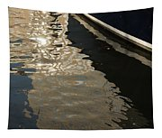 Silky Swirls And Zigzags - A Waterfront Abstract Tapestry