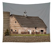 Silo And Barn Tapestry