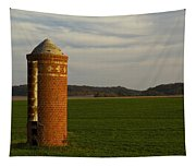 Silo Old Brick 3 Tapestry