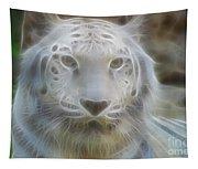 Silver-7963-fractal Tapestry