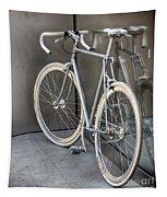 Silver Bike Tapestry