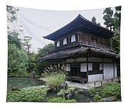 Silver Pavilion - Kyoto Japan Tapestry