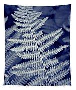 Silvery Fern Tapestry