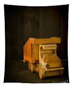 Simpler Times - Old Wooden Toy Truck Tapestry