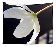 Simply Alone Flower Tapestry