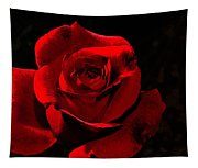 Simply Red Rose Tapestry
