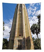 Singing Tower House Side View Tapestry