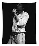 Singing With His Heart And Soul Tapestry