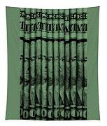 Singles In Light Green Tapestry