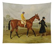 Sir Tatton Sykes Leading In The Horse Sir Tatton Sykes With William Scott Up Tapestry