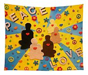 Sit Down And Change The World Tapestry