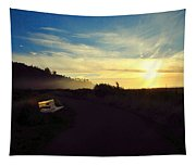 sit With Me And Watch The Sunset Tapestry