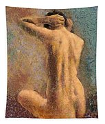 Sitting Nude 3 Tapestry
