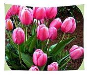 Skagit Valley Tulips 9 Tapestry