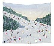 Ski Vening Tapestry