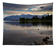 Skiddaw And Derwent Water At Dawn Tapestry