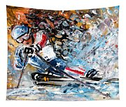 Skiing 04 Tapestry