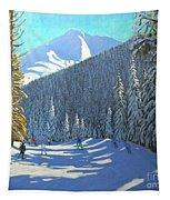 Skiing  Beauregard La Clusaz Tapestry