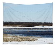 Sky Full Of Ducks Tapestry