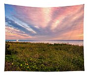Sky Waves Tapestry