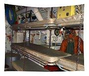 Sleeping Area Russian Submarine Tapestry