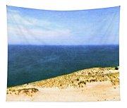 Sleeping Bear Dunes Panorama Tapestry