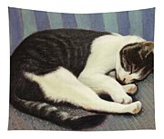 Sleeping Cat Tapestry