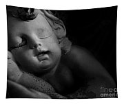 Sleeping Cherub #1bw Tapestry
