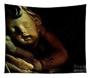 Sleeping Cherub #2 Tapestry