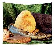 Sleeping Teddy Tapestry