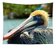 Sleepy Pelican Tapestry